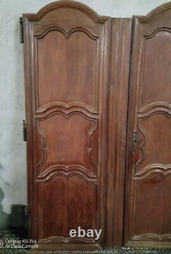 Portes armoire Louis XV 18ème