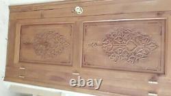 Portes bois, portes anciennes, portes mauresques, sculptée, lot de 8 portes
