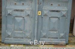 Portes d'entrée en chêne (la paire)