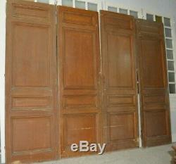 Portes de séparation en sapin x 4