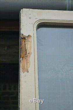 Portes vitrées en chêne (la paire)