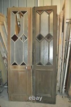 Portes vitrées (la paire)