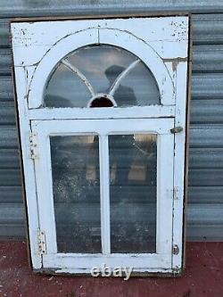 Quatre fenêtres a a impostes en sapin massif XIX siècle Portes Fenêtres