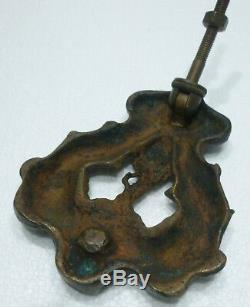Rare HEURTOIR Ancien en Bronze HAUTE-ÉPOQUE