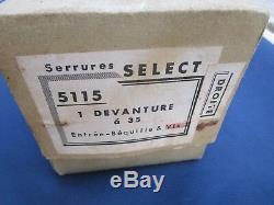 Serrure clef SELECT no Gollot 2 béquilles corne Porte devanture magasin Droite