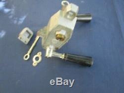 Serrure complète clefs Gollot 2 béquilles Porte gauche devanture magasin ancien