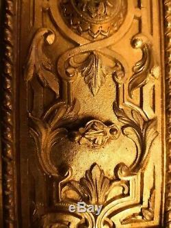 Serrure double bronze doré louis XVI