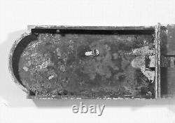 Serrure double de Porte Intérieure. Château ou app. Haussmannien en Bronze Doré