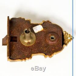 Serrure en bronze doré, XIXe