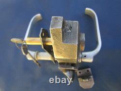 Serrure fonte 2 clefs Poignées aluminium no Gollot devanture bar magasin ancien