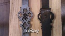 Serrure phrygienne ancienne XVIII, cremone d armoire