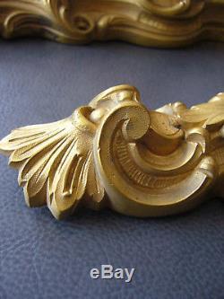 Serrurerie d'art paire de cremones porte fenetres en bronze