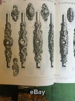 Superbe Lot 43 Elements Bronze Cisele Dore Remy Garnier Cremones Serrure Poignee