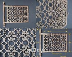 Superbe Travail de ferronnerie un Portillon / art populaire travail maitrise