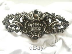 Superbe ancien poignée de porte de carrosse 18ème siècle couronne comtale
