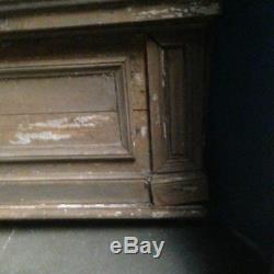 Trumeau de porte / Fronton de dessus de porte / Matériaux ancien