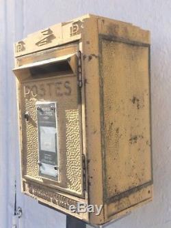VINTAGE jolie boite aux lettres PTT La Poste pour loft déco 1969 Dejoie Nantes