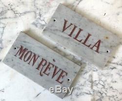 Villa Mon Rêve Plaque Maison de Maître Pays Basque Côté d Azur Architecture