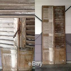 Volets anciens / Paire de volets a persienne / Portes ancienne