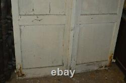 Volets en bois (la paire) / 2m11 de haut x 127 cms de large