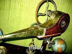 Werkzeug Uhrmacher forge Juwelier soufflet antik or watchmaker tools ventilateur